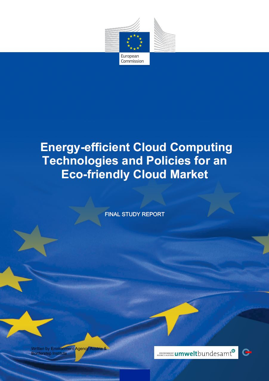 CE - estudo sobre tecnologias e políticas de computação em nuvem com eficiência energética