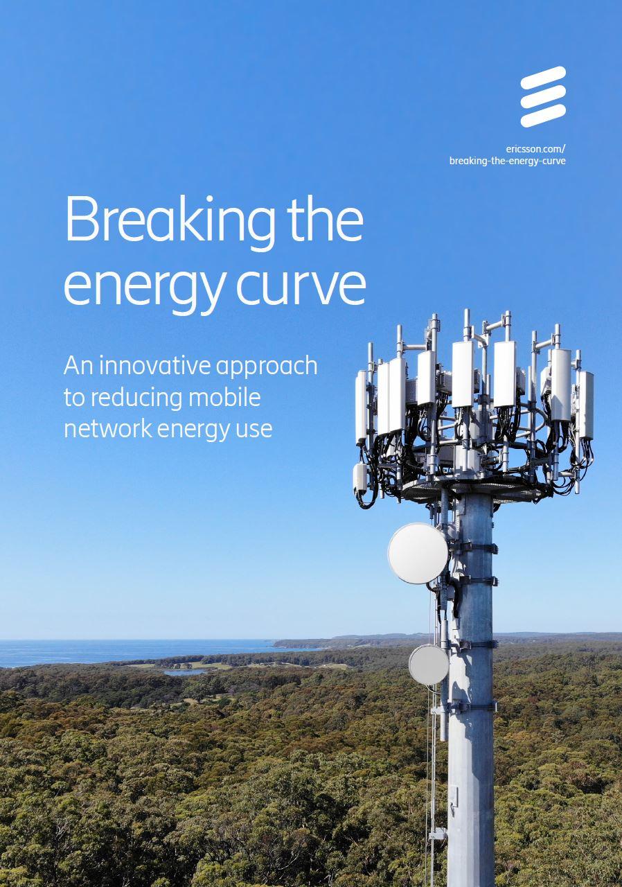 Ericsson - estudo Quebrando a curva de energia - uma abordagem inovadora para reduzir o uso de energia da rede móvel