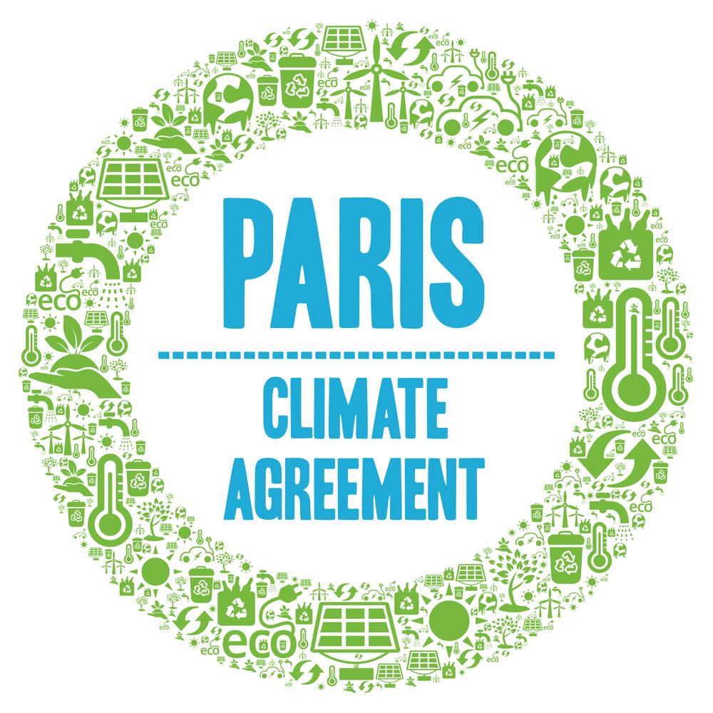 Paris,Climate,Agreement,Symbol,Illustration