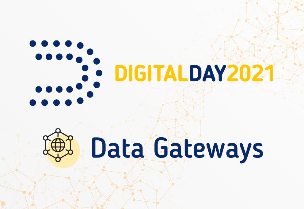 Imagem do dia digital 2021, sobre a criação de portals de entrada de dados