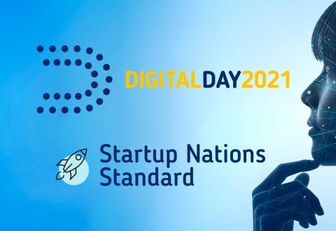 Imagem do dia digital 2021, sobre as normas da UE para as startup